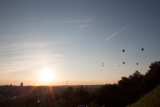 Heißluftballons!