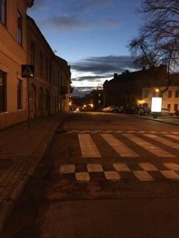 Strolling around in Uzupis (Künstler Viertel)